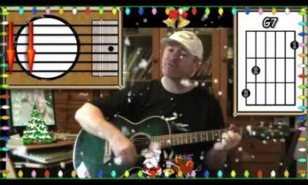 Winter Wonderland – Dean Martin – Acoustic Guitar Lesson (easy)