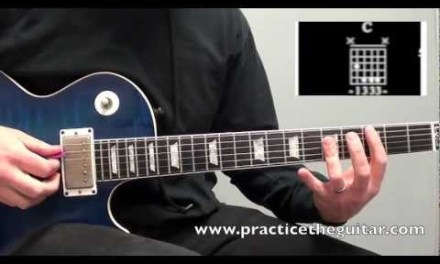 How To Play-Locked Out Of Heaven by Bruno Mars Guitar Lesson-With Tablature-
