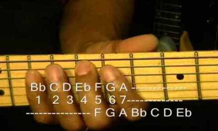 LET'S TALK SCALES #3 Bb Major & F Mixolydian Scale How To Play & Use On Guitar