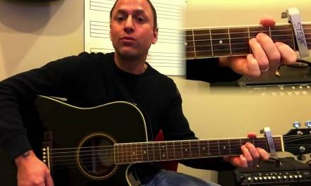 Steve Stine Easy Guitar Lesson – Learn How To Play Riptide by Vance Joy