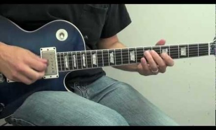 Beginning Blues Guitar Soloing Lesson-How To Play-The A Blues Scale-Techniques And Licks