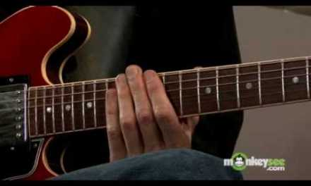 Jazz Guitar – Demonstration of Arpeggios in all Positions