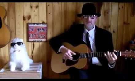 Acoustic Blues Blues Guitar – Jesus, Takin' Me Home – Reverend Jim Bavery