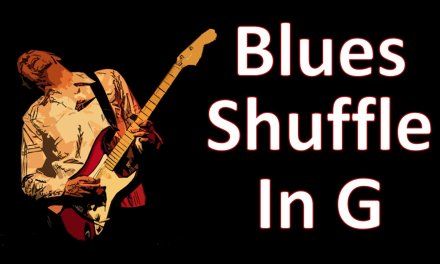 Guitar Backing Track Blues Shuffle In G