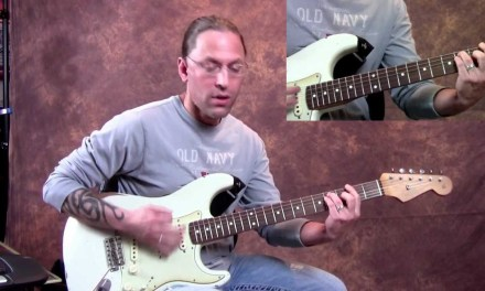 Steve Stine Guitar Lesson – Learn How To Play Still the One by Orleans Part 2