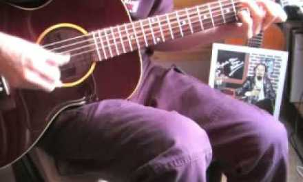 Sidewalk Blues – Acoustic guitar instrumental – Jelly Roll Morton