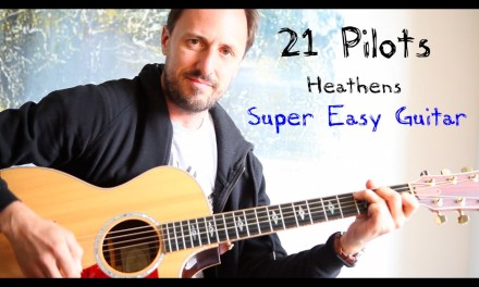 EASY GUITAR LESSON | 21 Pilots | Heathens