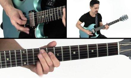 Blues Rhythm Guitar Lesson – Call It What You Want Performance – Corey Congilio