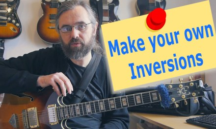 Find New Jazz Chords with inversions – Some chords you never thought about