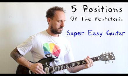 EASY GUITAR LESSON | Things Every Guitarist Must Know | THE PENTATONIC