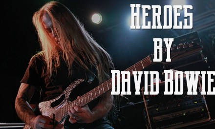 """Guitar Cover – Learn How to Play """"Heroes"""" by David Bowie (Guitar Lesson)"""