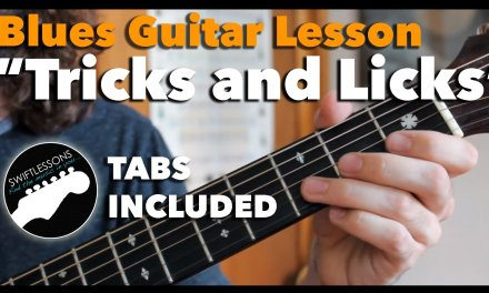 Beginner Blues Guitar Lesson – Lead Guitar Tricks and Licks in E (Fancy playing made easy!)