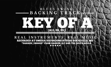 Guitar Backing Track – Blues Swing in Key of A