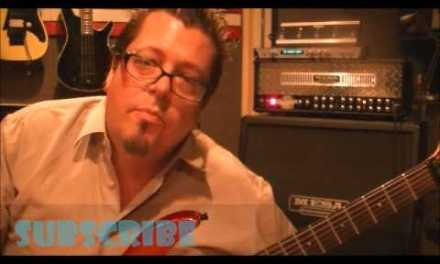 How to play an A MINOR PENTATONIC scale on guitar(pattern 1)by Mike Gross