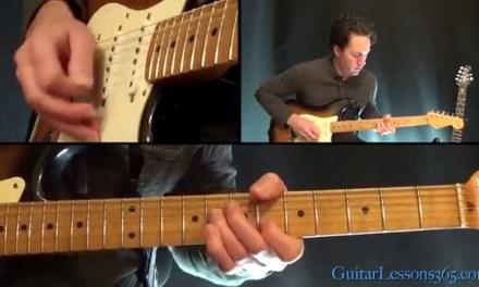 Johnny B. Goode Guitar Lesson – Chuck Berry – Chords