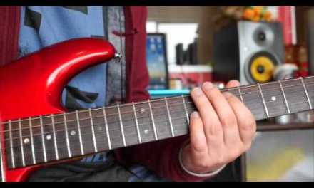 Bon Jovi – I'll be there for you Guitar Solo Lesson