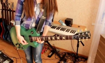 Muse – Psycho (guitar cover HD)