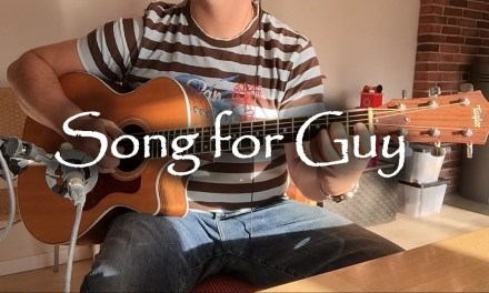 Song for Guy – Elton John   fingerstyle guitar (with tabs)