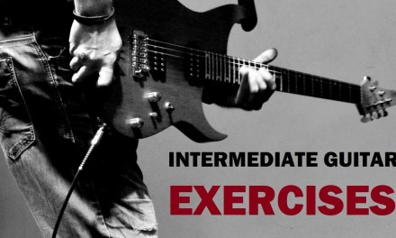 """GTi1T9Ge   Intermediate Guitar – Lesson 9 – """"""""Diatonic Scale: String Skipping Exercise"""""""