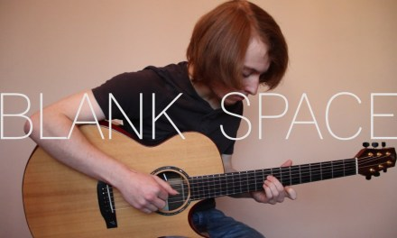 Taylor Swift – Blank Space – Fingerstyle Guitar Cover by James Bartholomew