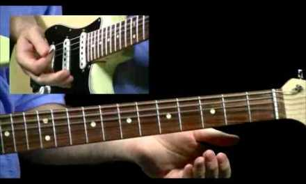 50 Slow Blues Licks – #50 – Guitar Lesson – Anthony Stauffer