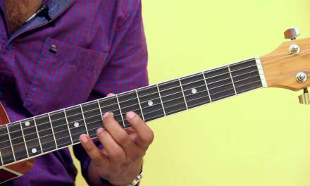 How To Play – D Sharp Harmonic Minor Scale – Guitar Lesson For Beginners