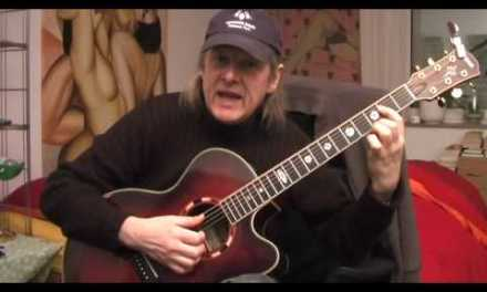 Hesitation Blues Guitar Lesson by Siggi Mertens
