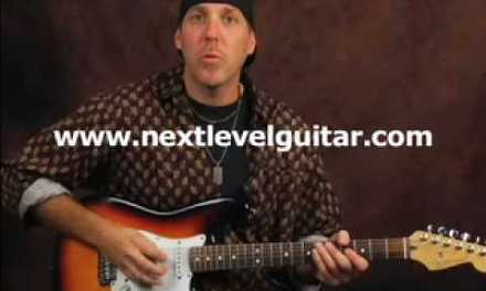 Guitar lesson improve picking dexterity speed & clarity