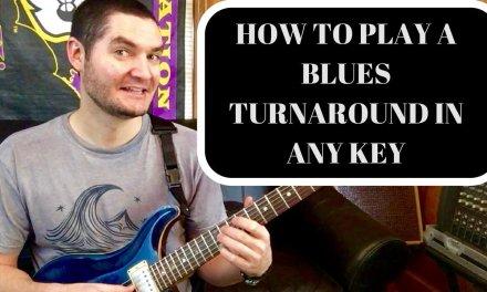 Blues Turnaround Lesson David Dixon