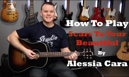 Scars To Your Beautiful – Guitar Lesson (Beginner Song)