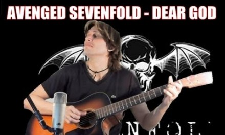 Avenged Sevenfold – Dear God [FINGERSTYLE GUITAR] Cover Acoustic Guitar solo