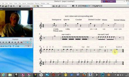 Begining Classical guitar lessons page 2