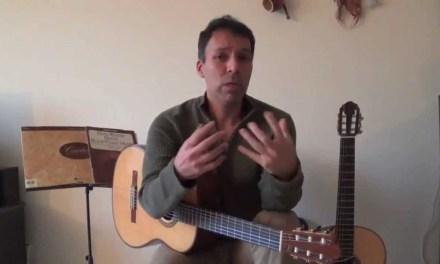 Classical Guitar Technique – Warming up Part 1