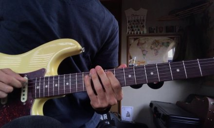 A Melodic Minor Scale for Guitar