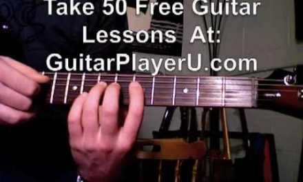 Beginner Country Electric Guitar Lesson – Bending Strings licks