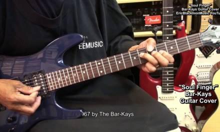 SOUL FINGER The Bar-Kays Electric Funk Guitar Cover 1 EricBlackmonMusicHD YouTube