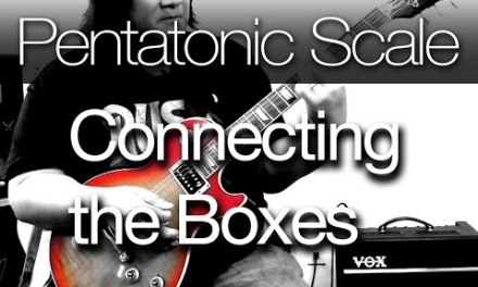 Connecting the Boxes in The Pentatonic Scale ( Easy way to improvise and jam )