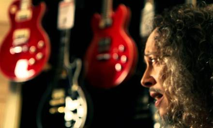 Metallica's Kirk Hammett At Guitar Center