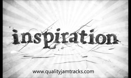Inspiring Guitar Backing Track in D Minor