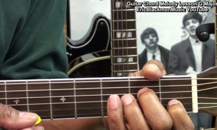 Cool Guitar Chord Melody Progression In G Major How To Play EricBlackmonGuitar HD
