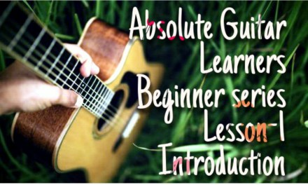 Guitar Lesson For Absolute Beginner-Introduction(HINDI) By HRITHIK ACOUSTIC