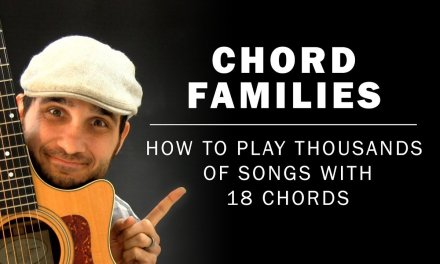 Chord Families | How To Play Thousands Of Songs With 18 Chords | Beginner Guitar Lesson