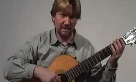 Tutorial Classical Guitar Lesson 3 Greensleeves Part 2