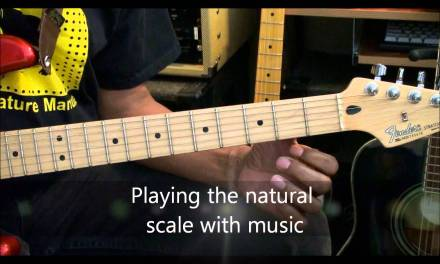 LET'S TALK SCALES #2 THE NATURAL SCALE How To Play Use & Understand On Guitar EricBlackmonMusicHD