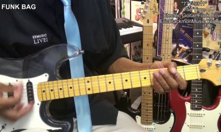 777-9311 The Time Electric Funk Guitar Cover EricBlackmonMusicHD YouTube