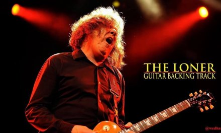 The Loner – Guitar Backing Track