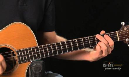 Praise to the Lord the Almighty (song) – Learn Intermediate Acoustic Guitar Lesson