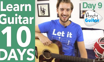 Guitar Lesson 9 – Open Chords And The Most Common Strumming EVER!