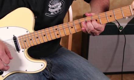Blues Rock Guitar Solo Lesson  Pentatonic Scales – Mixing the Major and Minor Pentatonics – Blues Li