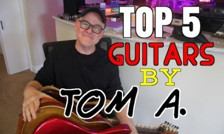 Top 5 Guitars By Tom Anderson  | Tim Pierce | Anderson Guitars | Soundpure.com | Guitar Solo